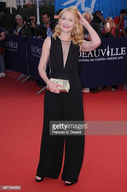 Patricia Clarkson arrives at the 'The Man From UNCLE' Premiere during the 41st Deauville American Film Festival on September 11 2015 in Deauville...
