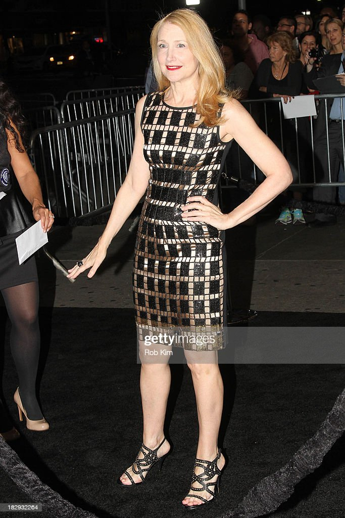 Patricia Clarkson arrives for the 'Gravity' premiere at AMC Lincoln Square Theater on October 1, 2013 in New York City.