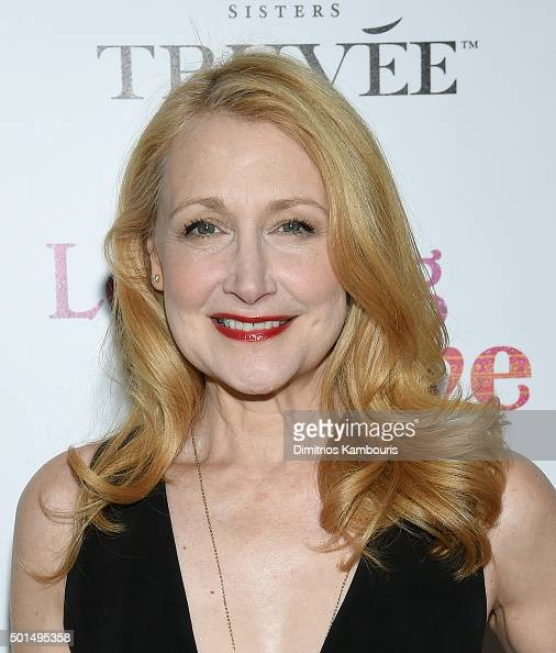 Patricia Clarkson attends A Celebration for Patricia Clarkson Presented by FIJI Water and Truvee Wines on December 15 2015 in New York City