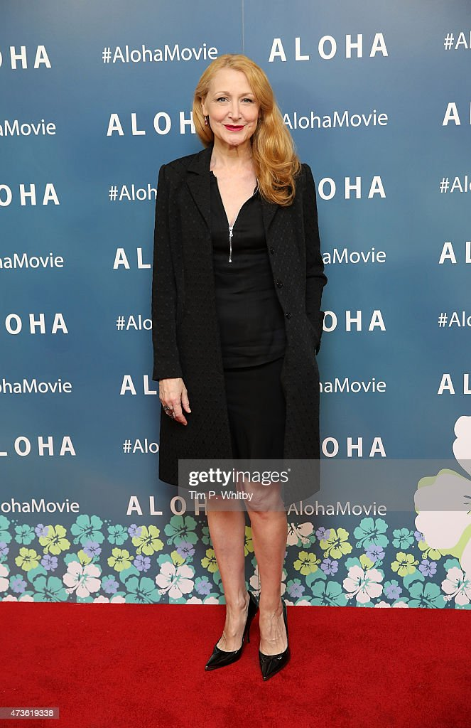 Patricia Clarkson attends a VIP screening of 'Aloha' at Soho Hotel on May 16, 2015 in London, England.