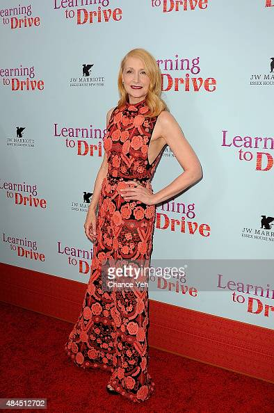 Patricia Clarkson attends 'Learning To Drive' New York premiere at The Paris Theatre on August 17 2015 in New York City
