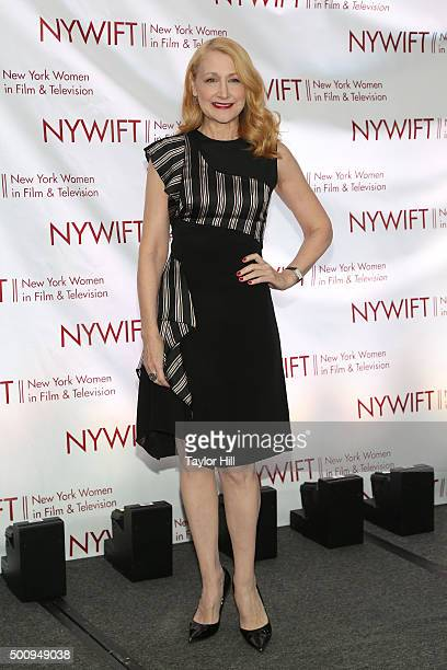 Patricia Clarkson attends New York Women In Film And Television's 35th Annual Muse Awards at New York Hilton on December 10 2015 in New York City