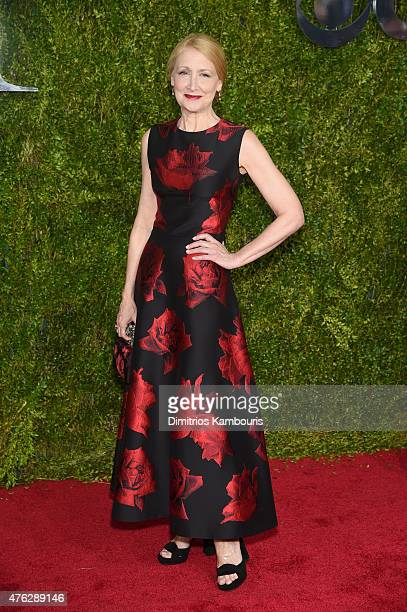 Patricia Clarkson attends the 2015 Tony Awards at Radio City Music Hall on June 7 2015 in New York City