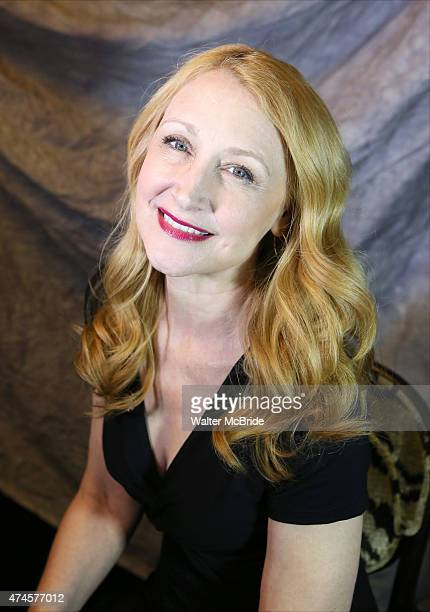 Patricia Clarkson attends the 2015 Tony Awards Meet The Nominees Press Junket at the Paramount Hotel on April 29 2015 in New York City