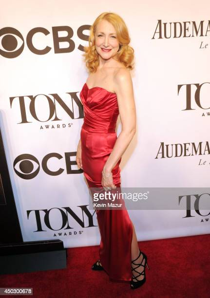 Patricia Clarkson attends the 68th Annual Tony Awards at Radio City Music Hall on June 8 2014 in New York City
