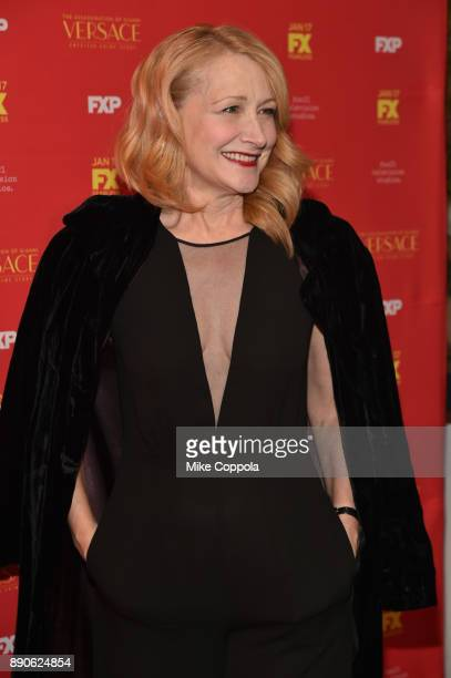 Patricia Clarkson attends 'The Assassination Of Gianni Versace American Crime Story' New York Screening at Metrograph on December 11 2017 in New York...