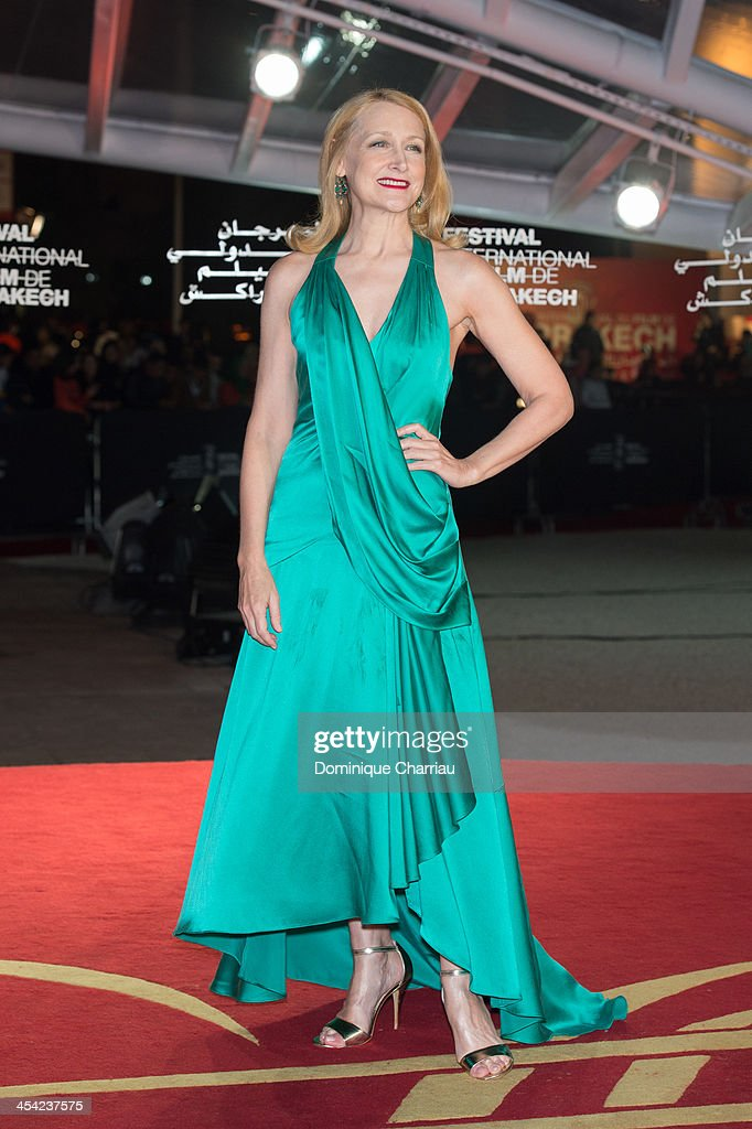 Patricia Clarkson attends the award Ceremony 2013' At 13th Marrakech International Film Festival on December 7, 2013 in Marrakech, Morocco.