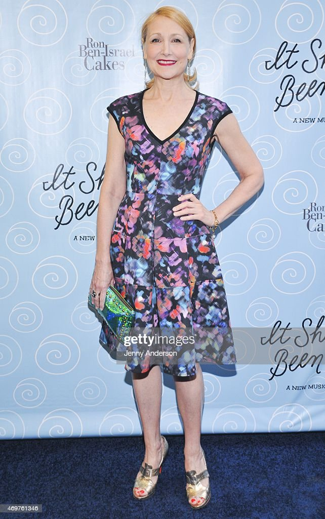 <a gi-track='captionPersonalityLinkClicked' href=/galleries/search?phrase=Patricia+Clarkson&family=editorial&specificpeople=202994 ng-click='$event.stopPropagation()'>Patricia Clarkson</a> attends the Broadway opening night of 'It Shoulda Been You' at Brooks Atkinson Theatre on April 14, 2015 in New York City.