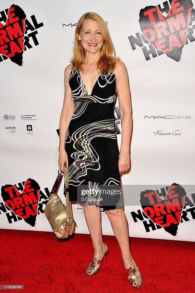 Patricia Clarkson attends the Broadway opening night of 'The Normal Heart' at The Golden Theatre on April 27, 2011 in New York City.