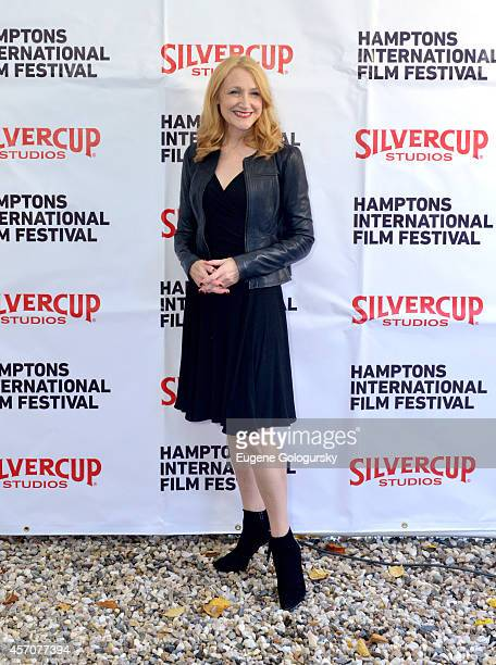 Patricia Clarkson attends the Chairmans Reception during the 2014 Hamptons International Film Festival on October 11 2014 in East Hampton New York