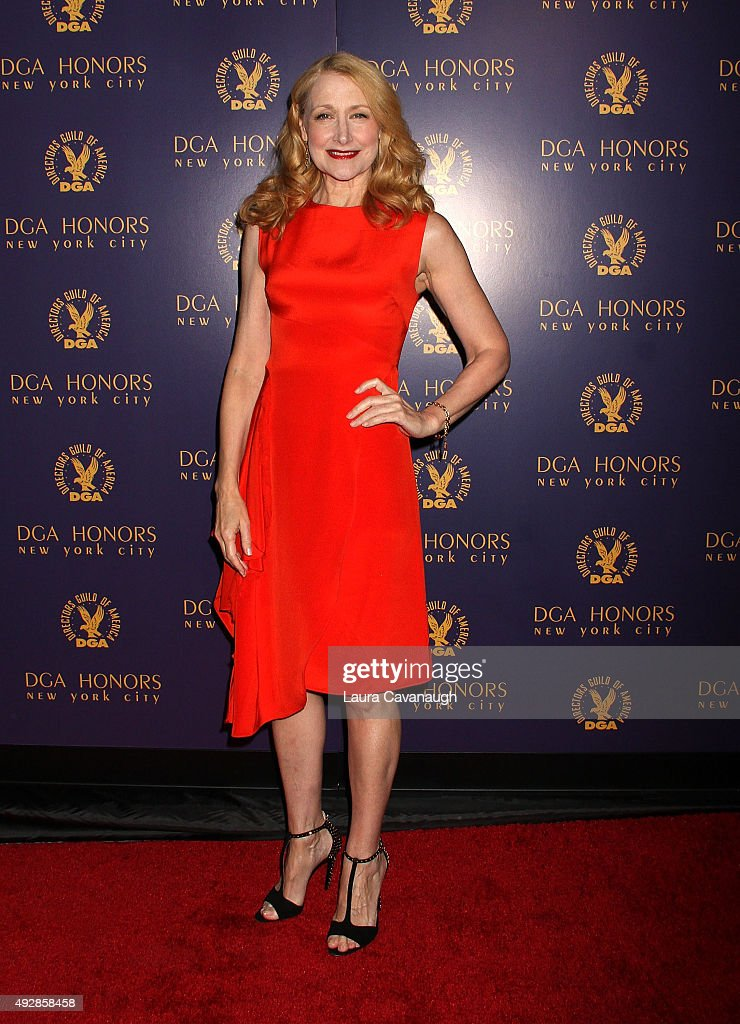 Patricia Clarkson attends the DGA Honors Gala 2015 on October 15, 2015 in New York City.