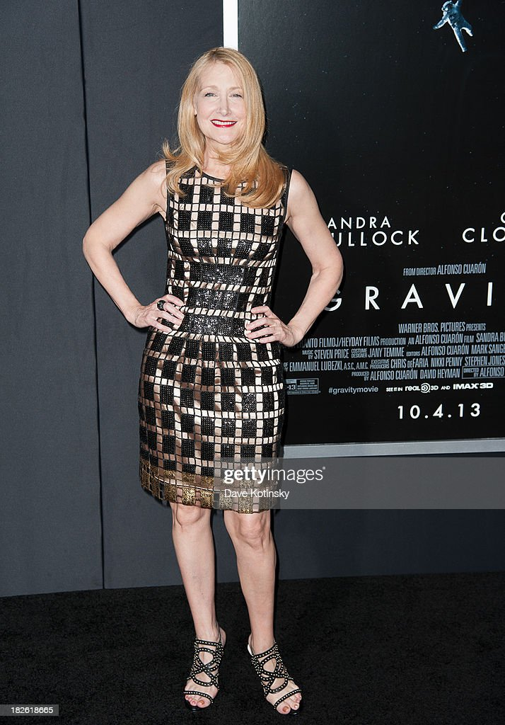 Patricia Clarkson attends the 'Gravity' premiere at AMC Lincoln Square Theater on October 1, 2013 in New York City.