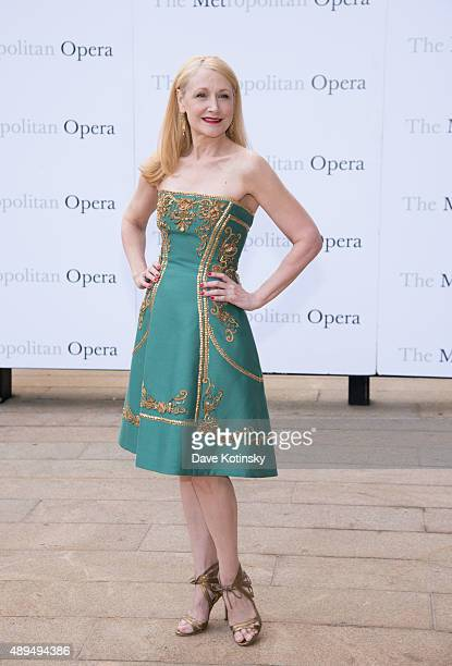 Patricia Clarkson attends the Metropolitan Opera 20152016 season opening night of 'Otello' at The Metropolitan Opera House on September 21 2015 in...