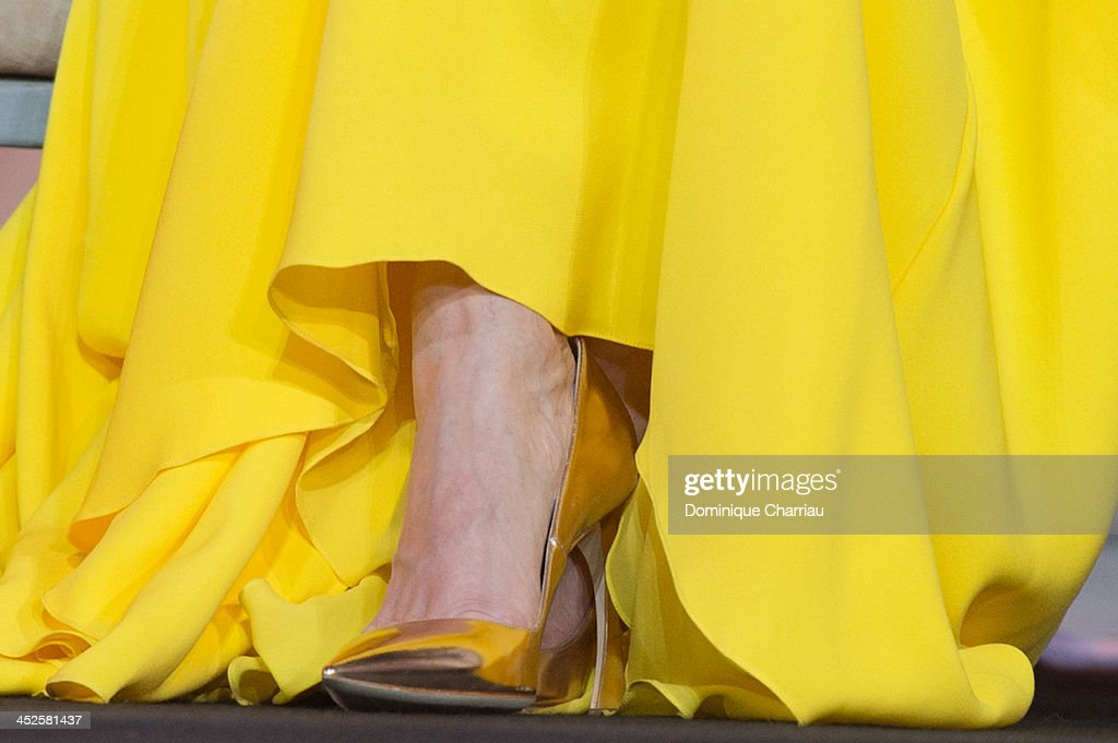 Patricia Clarkson (shoe detail) attends the opening ceremony of the 13th Marrakesh International Film Festival on November 29, 2013 in Marrakech, Morocco.