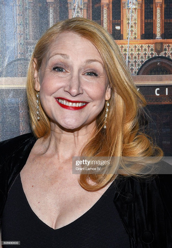 Patricia Clarkson attends the 'Our Mother's Brief Affair' Opening Night at Samuel J Friedman Theatre on January 20 2016 in New York City