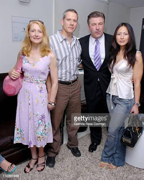 Patricia Clarkson Campbell Scott Alec Baldwin and Nicole Seidel