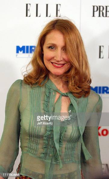Patricia Clarkson during 2005 Miramax PreOscar Party at Pacific Design Center in Los Angles California United States