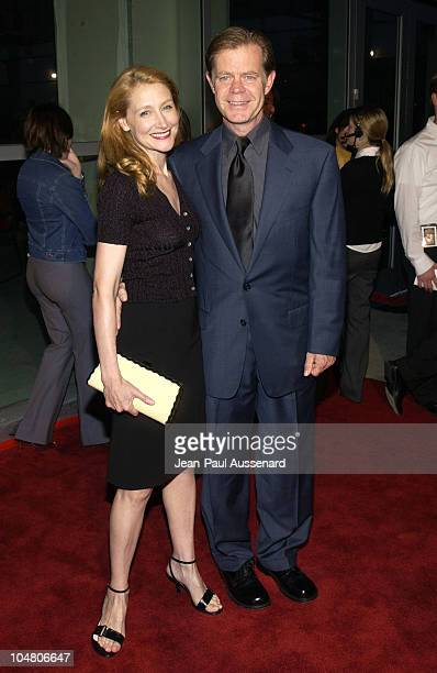Patricia Clarkson William H Macy during 'Welcome To Collinwood' Premiere at Cinerama Dome in Hollywood California United States
