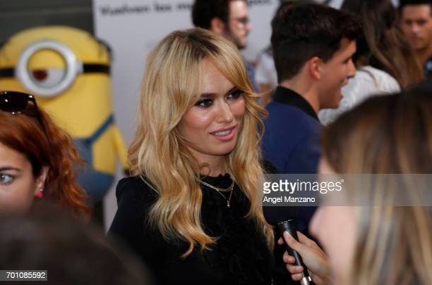 Patricia Conde attends the 'Despicable Me 3' premiere at Kinepolis cinema on June 22 2017 in Madrid SPAIN