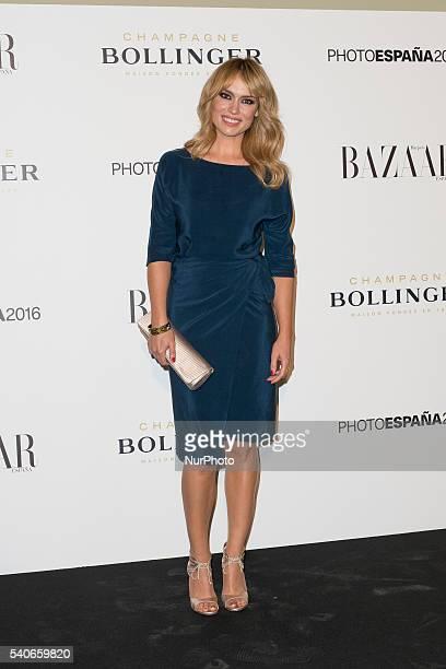 Patricia Conde attends the Harper's Bazaar dinner at the Circulo de Bellas Artes on June 14 2016 in Madrid Spain