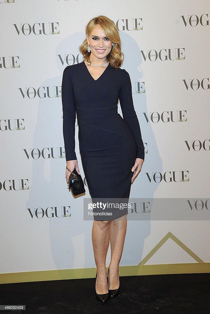 Patricia Conde attends Vogue Joyas 2013 Awards at the Palacio de la Bolsa on December 11, 2013 in Madrid, Spain.