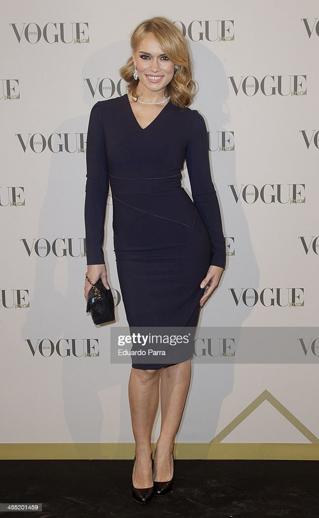 <a gi-track='captionPersonalityLinkClicked' href=/galleries/search?phrase=Patricia+Conde&family=editorial&specificpeople=2471941 ng-click='$event.stopPropagation()'>Patricia Conde</a> attends Vogue joyas 2013 awards photocall at Madrid stock exchange on December 11, 2013 in Madrid, Spain.