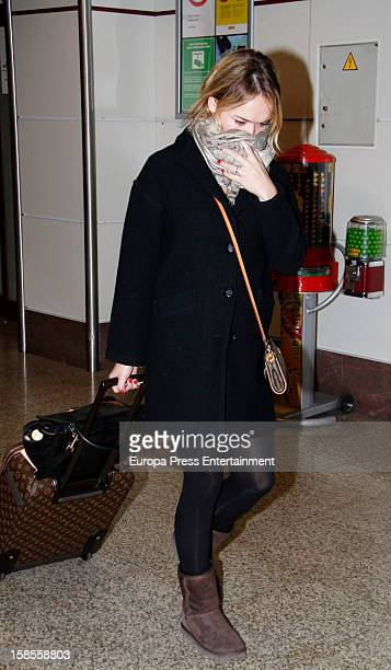 Patricia Conde is seen on December 18 2012 in Madrid Spain