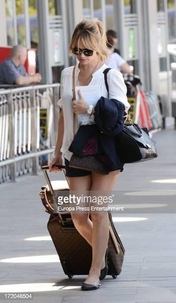 Patricia Conde is seen on June 30 2013 in Madrid Spain