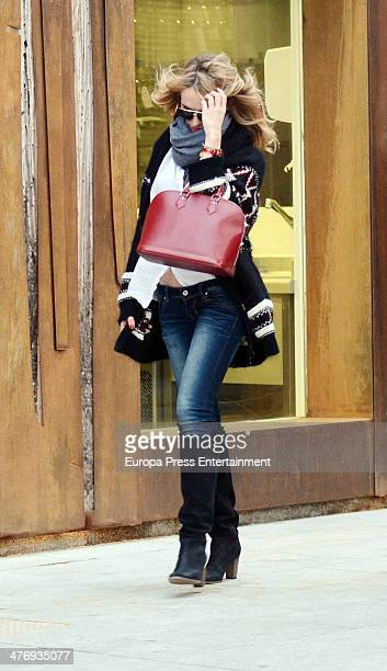 Patricia Conde is seen on March 5 2014 in Madrid Spain