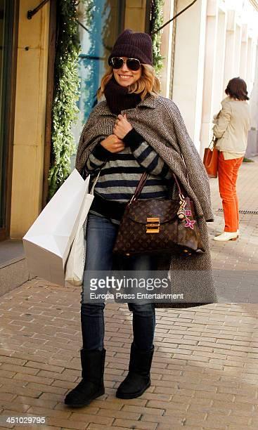 Patricia Conde is seen on November 20 2013 in Madrid Spain
