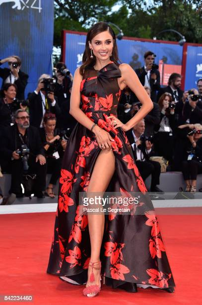 Patricia Contreras walks the red carpet ahead of the 'The Leisure Seeker ' screening during the 74th Venice Film Festival at Sala Grande on September...