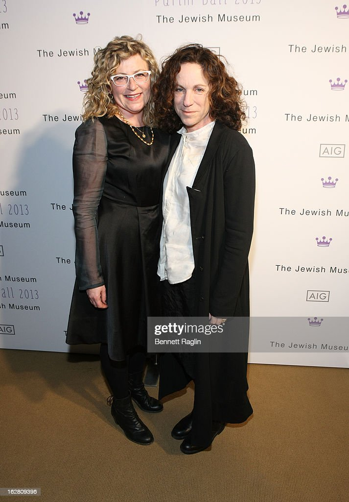 Patricia Cornin and Deborah Cass attend the 2013 Jewish Museum Purim Ball at Park Avenue Armory on February 27, 2013 in New York City.