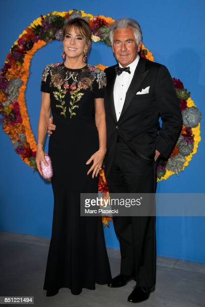 Patricia d'Arenberg and JeanPaul Einthoven attend the Opening Season Gala at Opera Garnier on September 21 2017 in Paris France
