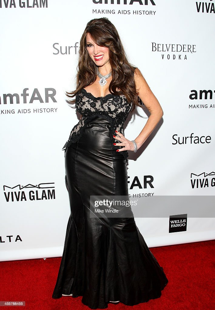 Patricia Delinois attends the 2013 amfAR Inspiration Gala Los Angeles at Milk Studios on December 12, 2013 in Los Angeles, California.