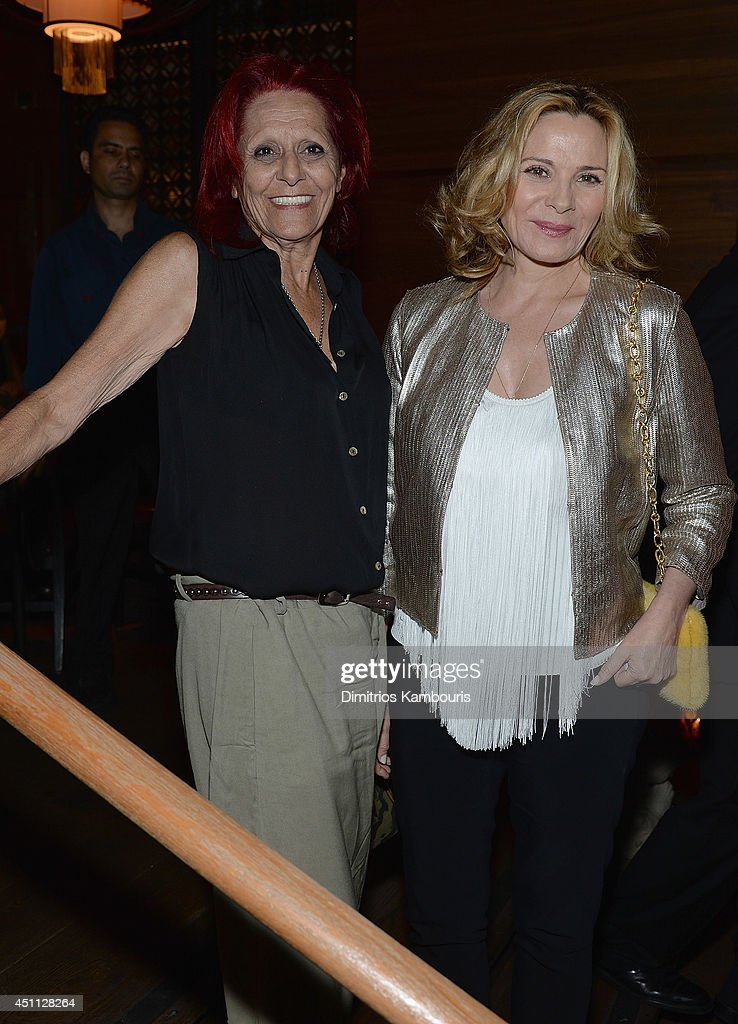 Patricia Field and <a gi-track='captionPersonalityLinkClicked' href=/galleries/search?phrase=Kim+Cattrall&family=editorial&specificpeople=202214 ng-click='$event.stopPropagation()'>Kim Cattrall</a> attend 'The Leftovers' premiere after party at TAO on June 23, 2014 in New York City.