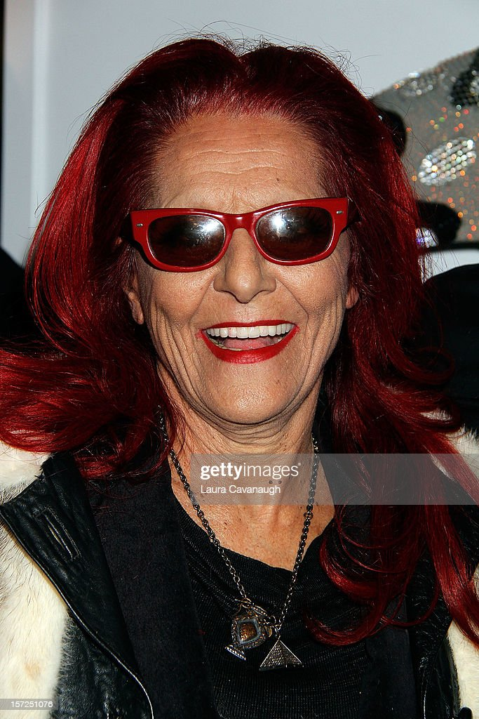 Patricia Field attends Kevin McHugh Pucci-Inspired Sculpture Collection launch at The Out NYC on November 30, 2012 in New York City.