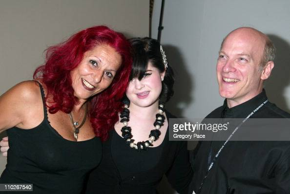 Patricia Field Kelly Osbourne and Timothy Greenfield Sanders photographer