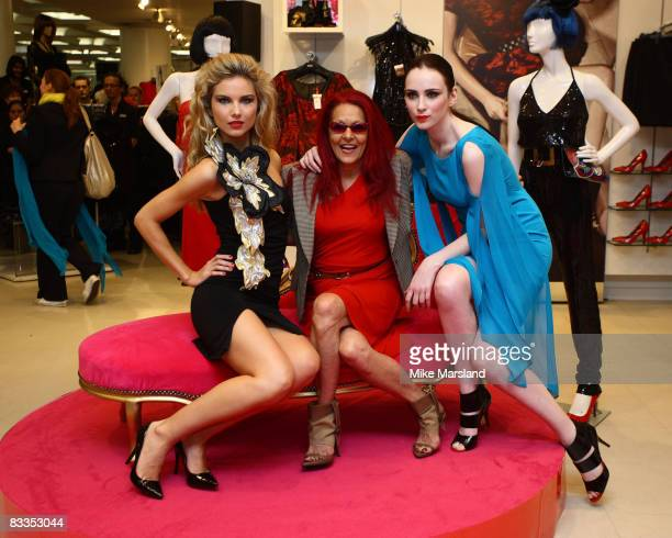 Patricia Field launches her new collection at Marks Spencer on October 15 2008 in London England