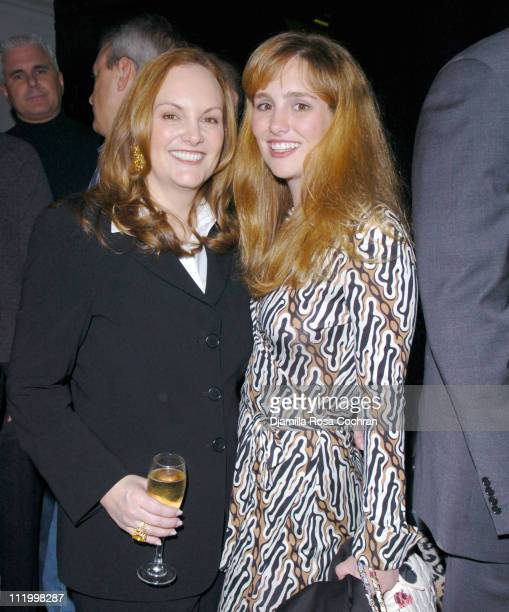 Patricia Hearst and Gillian Hearst during 'John Waters Presents Movies That Will Corrupt You' Launch Party at Happy Valley in New York City New York...