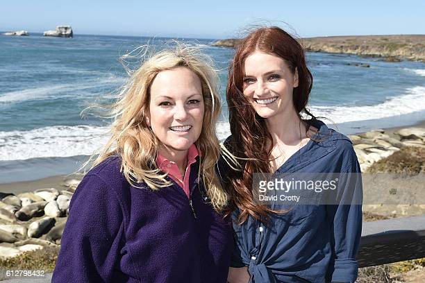 Patricia Hearst Shaw and Lydia Hearst attend Hearst Castle Preservation Foundation Annual Benefit Weekend Elephant Seal Adventure at Hearst Castle on...