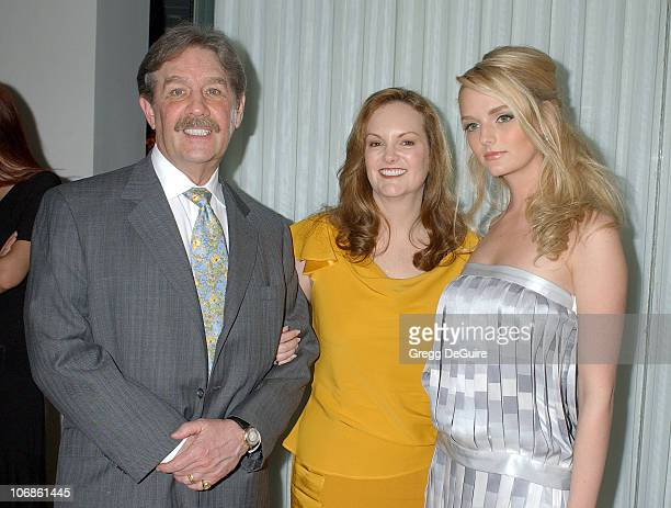 Patricia Hearst with husband and daughter Lydia Hearst