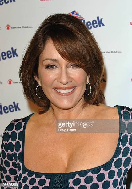 Patricia Heaton arrives at BritWeek's Save The Children And Virgin Unite Charity Event at the Beverly Wilshire hotel on April 22 2010 in Beverly...