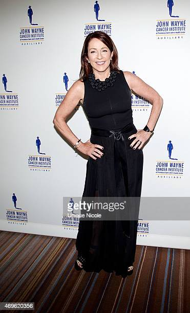 Patricia Heaton arrives at the 30th Annual John Wayne Odyssey Ball at Regent Beverly Wilshire Hotel on April 11 2015 in Beverly Hills California