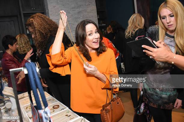 Patricia Heaton attends the Stella Dot trunk show to benefit the HollyRod Foundation on April 17 2017 in Encino California