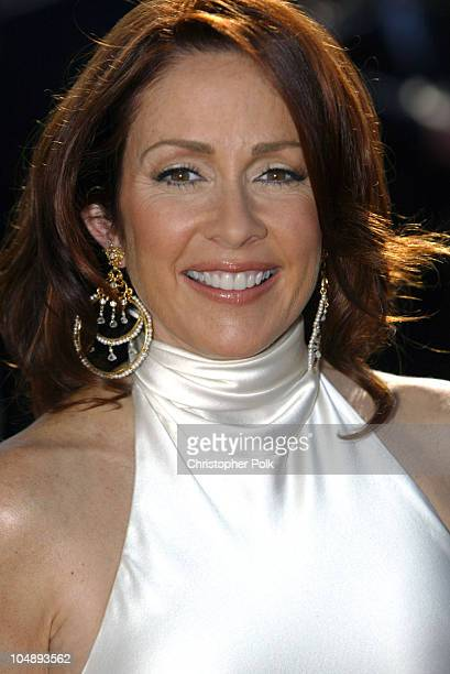 Patricia Heaton during 55th Annual Primetime Emmy Awards Arrivals at The Shrine Auditorium in Los Angeles California United States