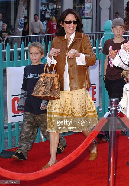 Patricia Heaton during Disney's 'Chicken Little' Los Angeles Premiere Arrivals at El Capitan in Hollywood California United States