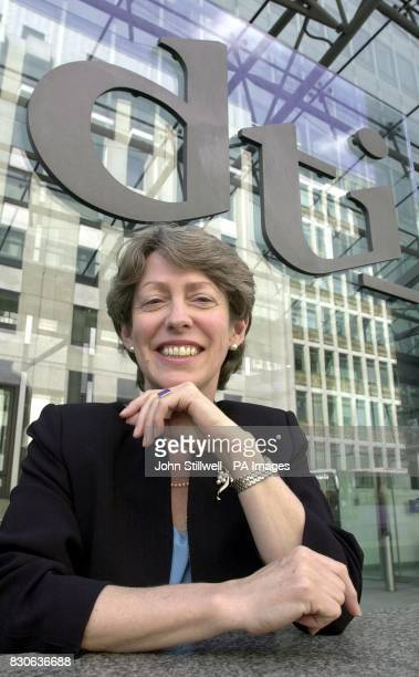 Patricia Hewitt the new Secretary of State for Trade and Industry arrives at her Westminster office in central London to take up her new post *...