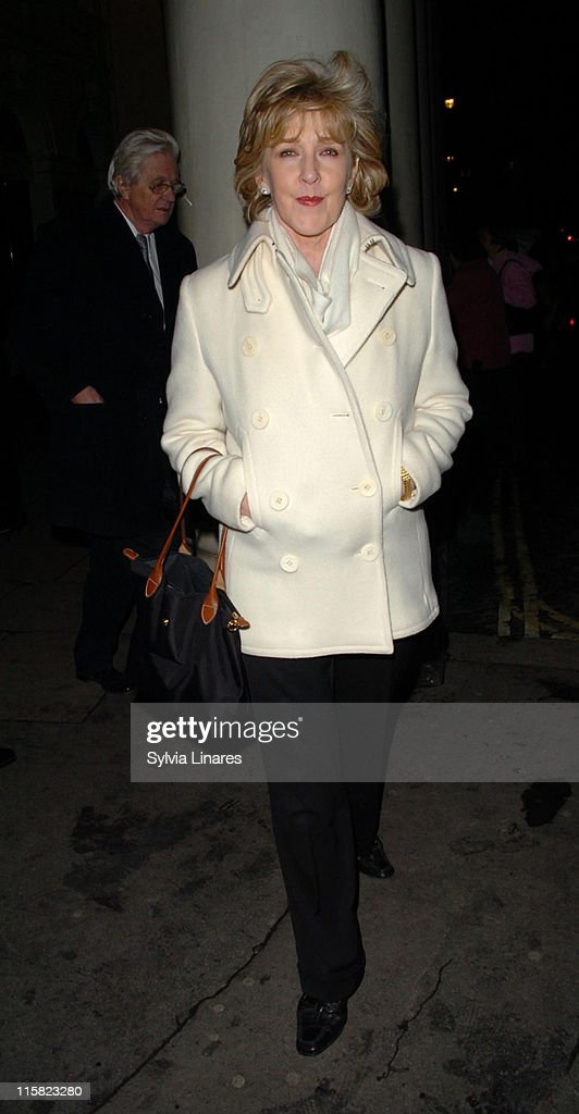 <a gi-track='captionPersonalityLinkClicked' href=/galleries/search?phrase=Patricia+Hodge&family=editorial&specificpeople=228366 ng-click='$event.stopPropagation()'>Patricia Hodge</a> during 'The Lady From Dubuque' - Gala Evening at Theatre royal in London, Great Britain.
