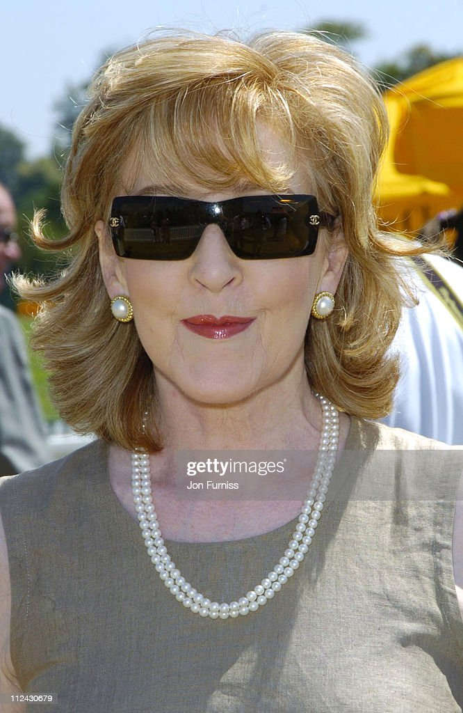 <a gi-track='captionPersonalityLinkClicked' href=/galleries/search?phrase=Patricia+Hodge&family=editorial&specificpeople=228366 ng-click='$event.stopPropagation()'>Patricia Hodge</a> during The Veuve Clicquot Gold Cup Polo Final - July 17, 2005 at Cowdray Park in West Sussex, Great Britain.