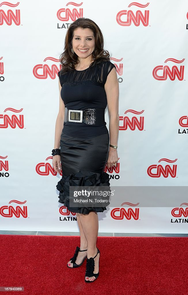 Patricia Janiot attends the 2013 CNN en Espanol and CNN Latino Upfront at Ink 48 Hotel on May 2, 2013 in New York City.